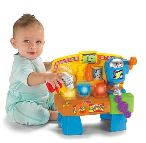 fisher price laugh and learn work bench fisher price laugh and learn learning workbench peekaboobabycollection