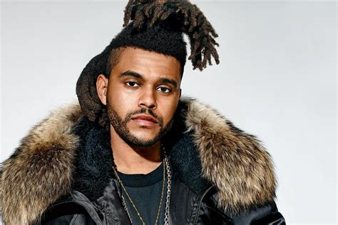 the weeknd hair 2015 fusion radio 187 profile the weeknd fusion radio