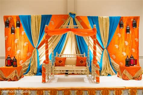 indian engagement decoration ideas home long branch nj indian wedding by memories studio