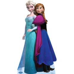 Disney Frozen Elsa Anna Standup 6 Tall