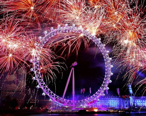 happy  year clock time fireworks pictures  hd wallpaper  wallpaperscom