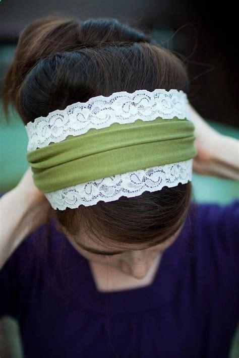 jersey headband pattern scrap jersey fabric lace scrap sewing machine