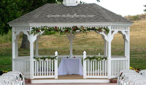 gazebo decorations awesome gazebo decorations for wedding pictures styles