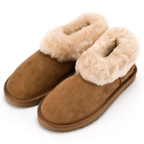 boot slippers sheepskin slipper boots