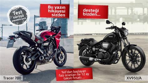 yamaha motosiklet tracer  ve xva kampanyasi