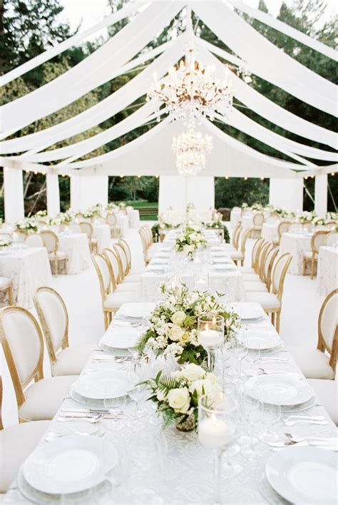 wedding white modern wine country wedding at meadowood from a savvy