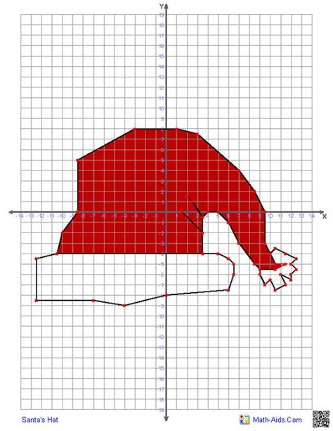 christmas cordation graphing worksheets four quadrant graphing characters worksheets