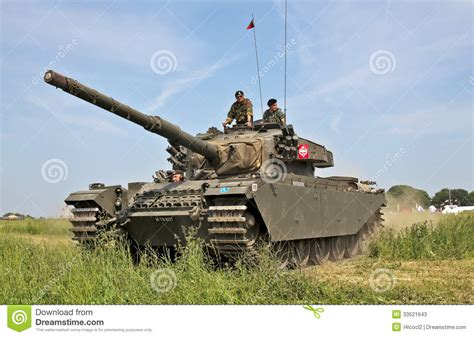 Time Tracker Thunt centurion tank waiting editorial stock photo image of