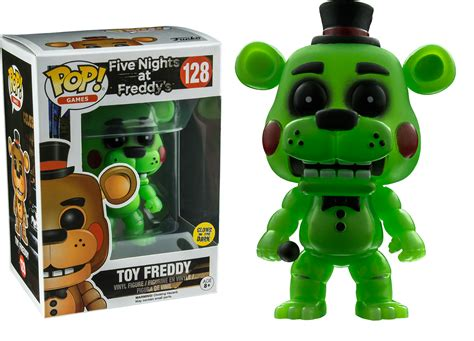 Funko Five At Freedyos Springtrap Glow In The glow in the freddy pop vinyl figure five