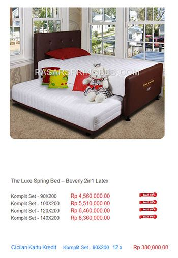 Kasur The Luxe harga the luxe bed harga bed termurah di
