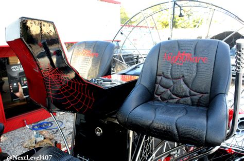 airboat seat covers custom gator skin seats