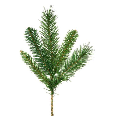greenery picks artificial pine greenery florals