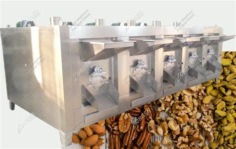 Almond Roasted 1 Kg By Genki Plant nuts roaster machine for peanut almond soybean spices