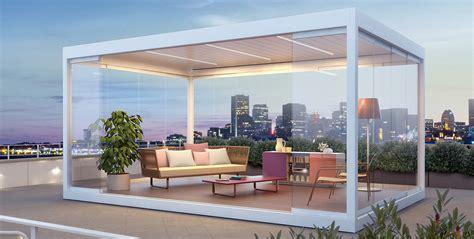 pavillon überdachung terrasse pavillon protection solaire avec stobag