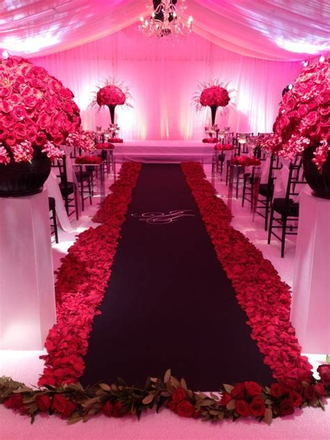 this all red black white wedding was a fav of mine this