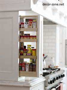 Small kitchen storage ideas for kitchen island and kitchen table