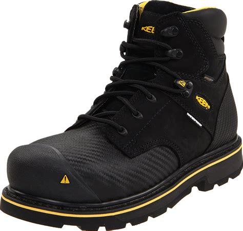 keen work boots for keen mens tacoma mid steel toe work boot in black for