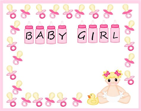 baby clipart borders  frames clipground