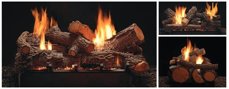 Gas Fireplaces Raleigh Nc by American Hearth Raleigh See Thru Gas Log Sets Vented Or
