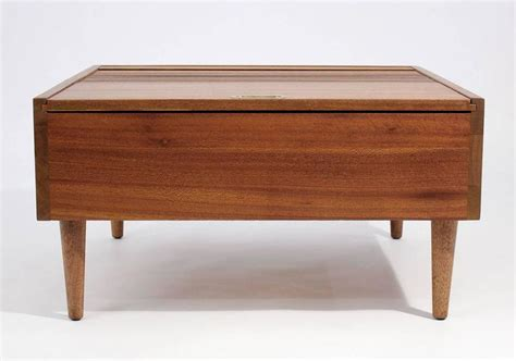 coffee tables brown brown saltman coffee table by keal for sale at 1stdibs
