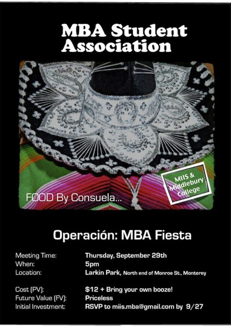 Mba Student Association by Social Fisher International Mba Student Association