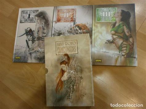 libro luis royo conceptions volume conceptions de luis royo tres tomos en estuch comprar en todocoleccion 64281795