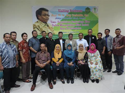 Sumber Alam Prof Dr Ja Katili visiting professor pengelolaan sumber daya alam dalam meningkatkan nilai tambah yang
