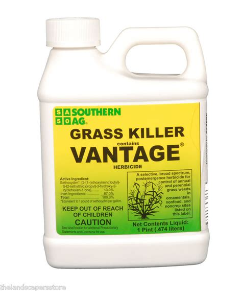 Killer For Grass by Grass Killer With Vantage A Selective Herbicide Pint Ebay