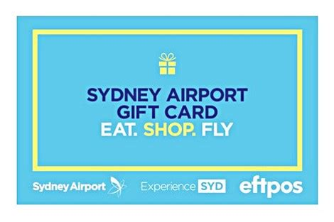 Airport Gift Cards - syd first to launch gift cards at an australian airport travel retail business