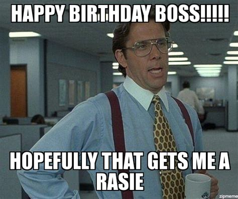Happy Boss S Day Meme - happy birthday boss meme pictures to pin on pinterest