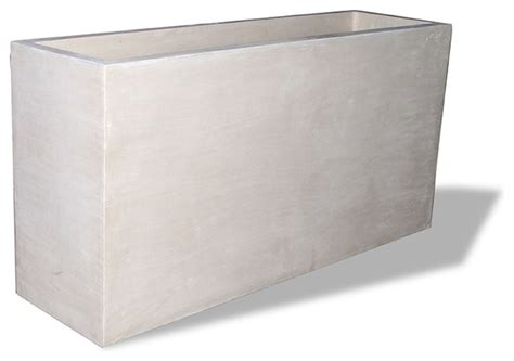 rectangular planter modern outdoor decor miami