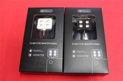 Iblazr Led Flash For All Smartphones Tablet Ios And Android iblazr intelligent led iphone samsung adriod extern handy