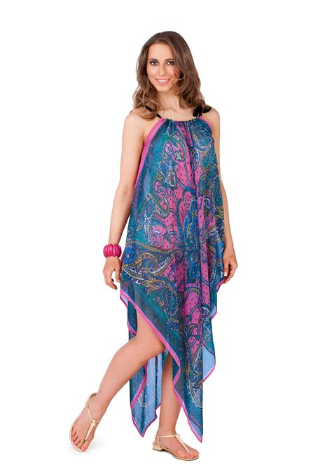 8 Cover Ups by Womens Chiffon Kaftan Cover Up Paisley