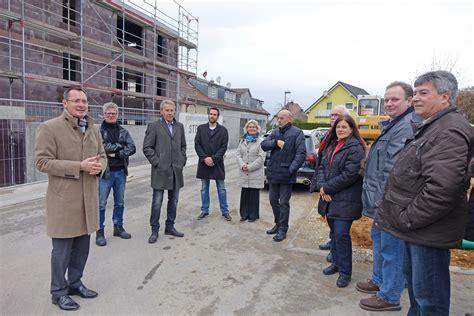 architekt aalen st 228 dtische wohnungsbau feiert richtfest f 252 r wohnanlage
