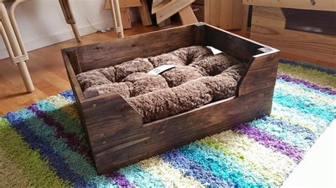 pallet dog bed easy to make pallet dog bed pallet furniture diy
