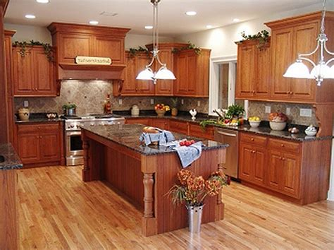 rustic kitchen cabinets wooden kitchen floor