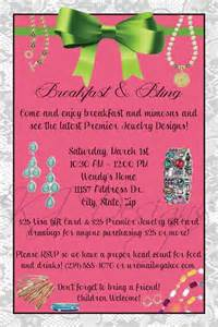Jewelry Invitation Template by Jewelry Invitations And Invitations On