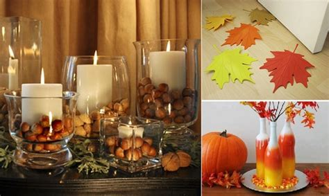 autumn decorations home 10 wonderful autumn decorations home design garden