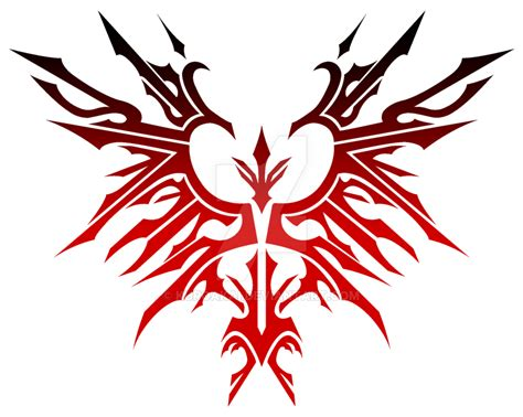 phoenix tribal by kuroakai on deviantart