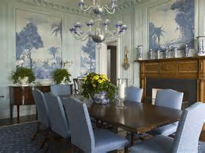 Blue And White Dining Room by A Blue And White Beach House By Phoebe And Jim Howard