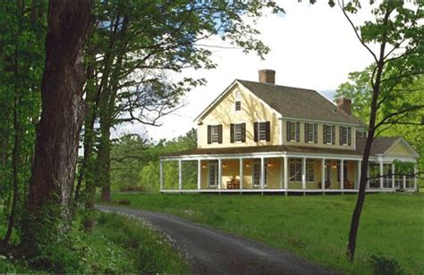 farmhouse with wrap around porch amanda cromwell farmhouse style exterior