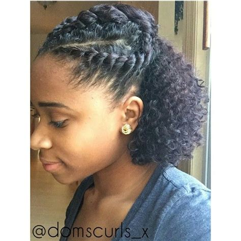 how to quick cute easy protective style on short natural hair hairstyles pinterest protective styles
