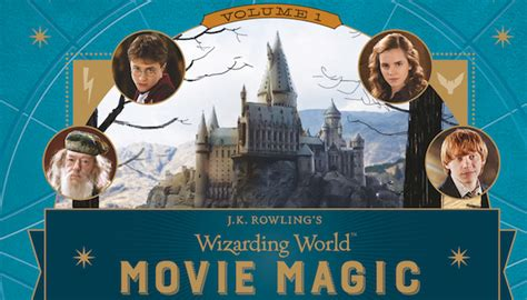 J K Rowling S Wizarding World A Pop Up Gallery Of Curiosities just announced new books coming from harry potter s