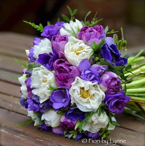 purple flower wedding bouquet photos wedding flowers gemma s wedding flowers in white lilac and purples