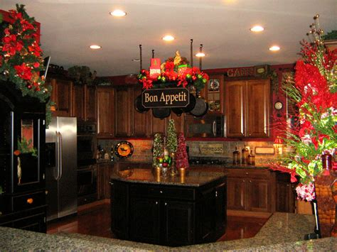 christmas kitchen decorating ideas christmas kitchen pot rack traditional kitchen dc metro