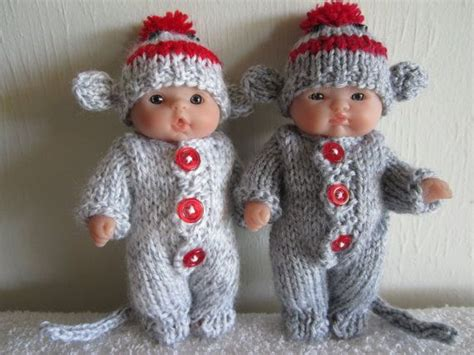 clothes pattern for sock monkey 126 best images about baby dolls clothing crochet knit
