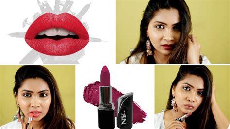 Lipstick Nys 717 Butter Harga Lusinan A best rs 100 lipsticks ny bae matte lipsticks v s colorbar maybelline and la