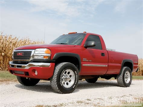 2003 gmc sierra 2500hd 600hp work truck diesel power magazine