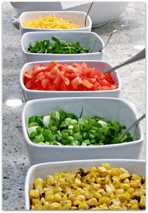 toppings for taco bar healthy girl s kitchen easy entertaining plant strong