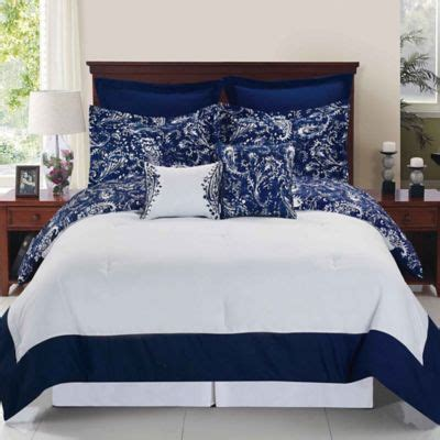 Lawasancornel 2in1 Set Kulot Navy 1 buy paisley bedding sets comforters from bed bath beyond